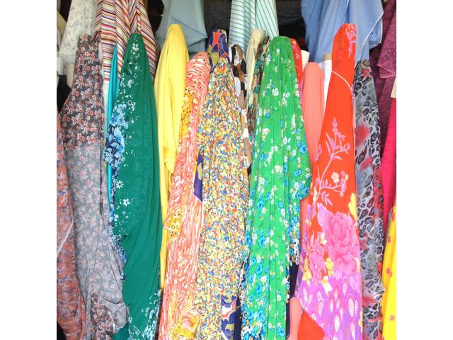 Specialists in apparel and upholstery fabrics in Christchurch.  HARALDS Warehouse  47 Birmingham Dr.