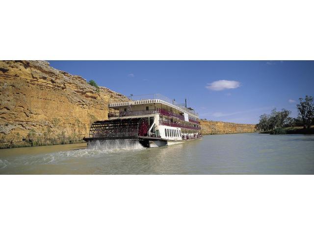 Captain Cook Cruises Murray Princess Paddlewheeler, Murray River, South Australia