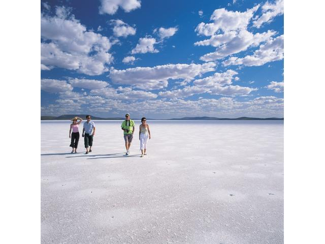 Lake Gairdner Salt Lake, Gawler Ranges, Eyre Peninsula, South Australia