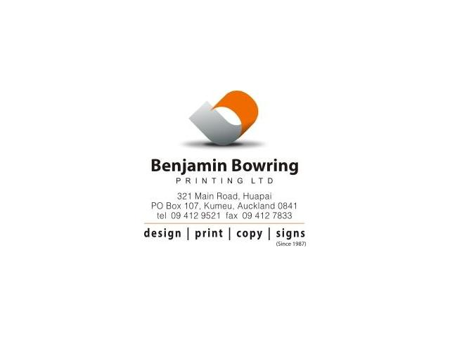 Benjamin Bowring Printing Design - Print - Copy - Signs - Picture Framers