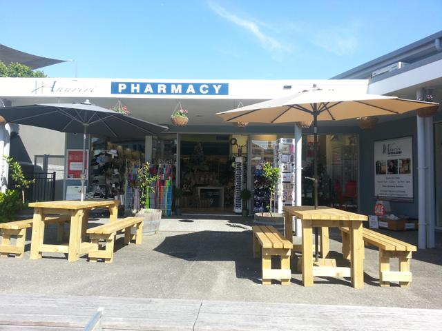 Come and enjoy the sunshine outside Ahuriri Pharmacy