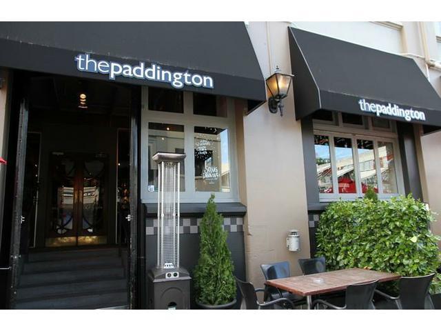 Outside The Paddington
