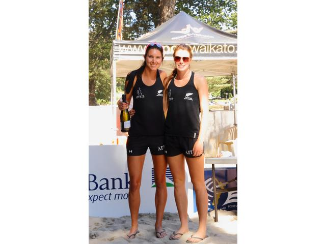 New Zealand Champions - Julia Tilley / Shaunna Polley