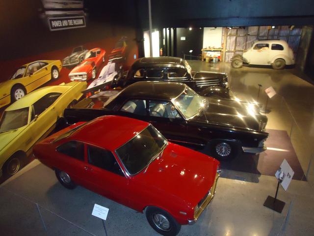 The Cars Display