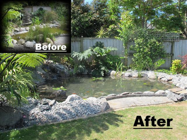 7-Day pond Re-Build