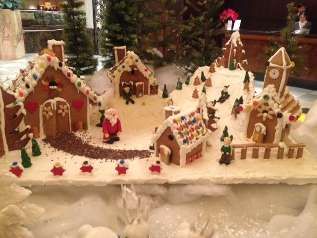Make sure you take a look at the Langham's Christmas display