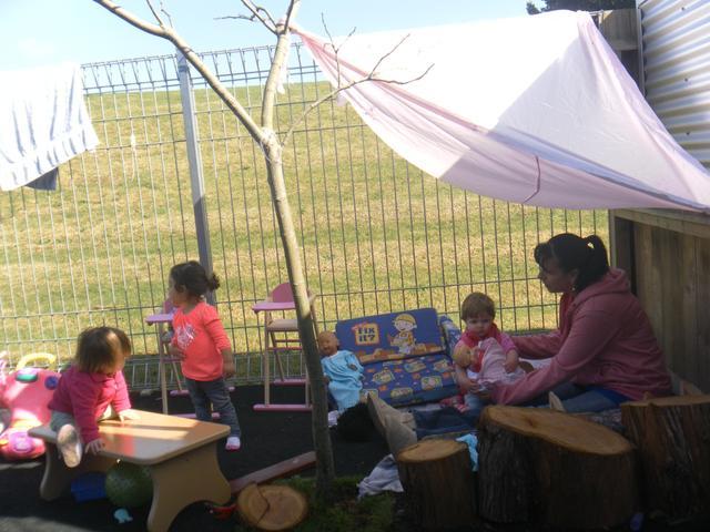 A Quiet Corner in the Babies