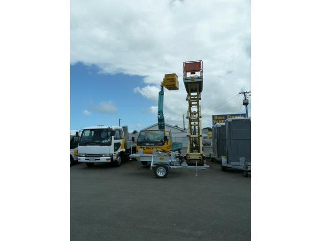 10m cherry Picker Truck & 12m Working height JLG Scissor Lift
