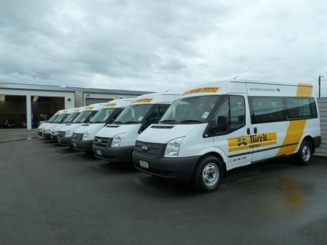 Ford Transit 12 Seater Mini Buses with luggage space