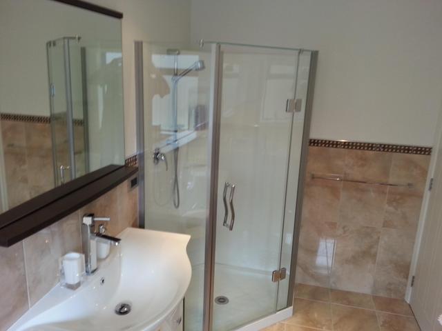 shower installation.
