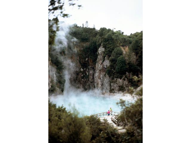Inferno Crater at Waimangu Volcanic Valley, Rotorua