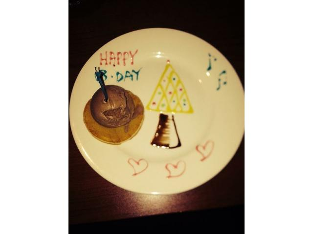 Birthday dessert that was made for me (: