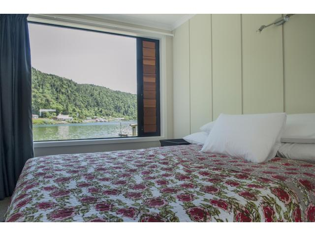 A bedroom view