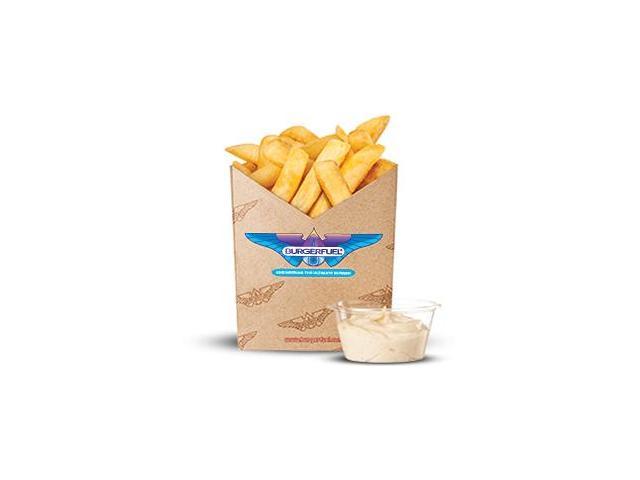 Spud Fries with aioli dip