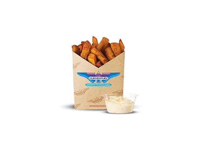 Kumara Fries with aioli dip