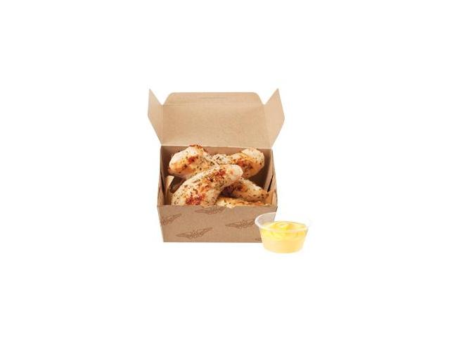 Chicken Fenders - 4 grilled chicken tenderloins seasoned with natural sea salt, garlic and rosemary, with your choice of dipping sauce