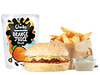 Kids Cheeseburger Meal - Cheeseburger (like the Hamburgini but without the pickles), Spud Fries with a dipping sauce of your choice & a small Charlie's Juice