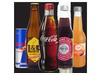 Drinks from the fridge - L&P, Coke range, Phoenix Organic Juice & Cola's, Pump Water, Sprite