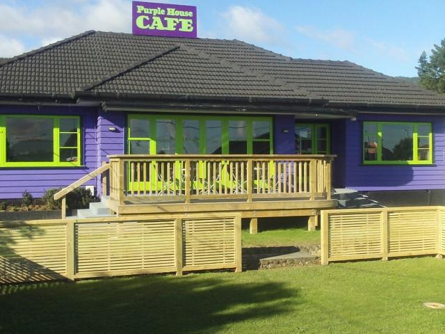 The purple House Cafe Great Place to Eat