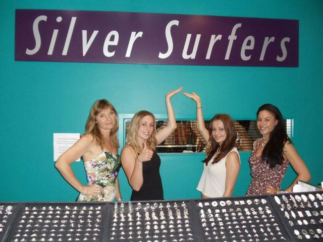 Silver Surfers for your sterling silver