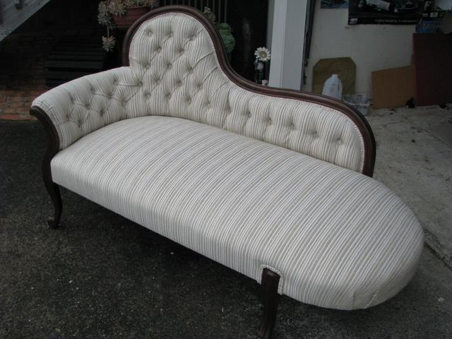 Another amazing restoration by Topstitch Upholstery