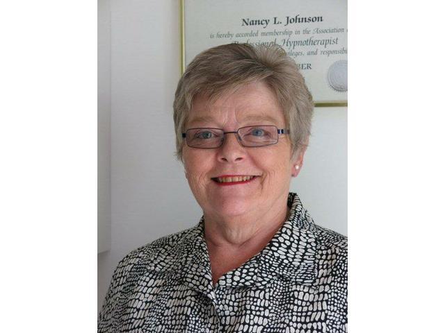 Dr. Nancy Johnson, Hypnotherapist