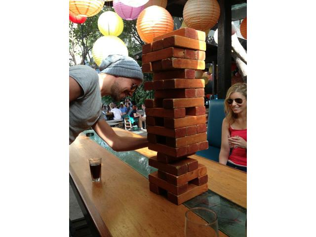 Southern Cross giant jenga!