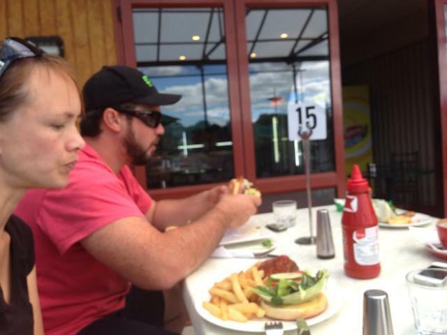 their fish, lamb, and beer burgers 10/10