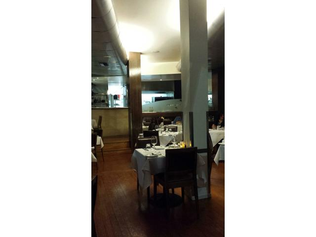 An intimate atmosphere with great service