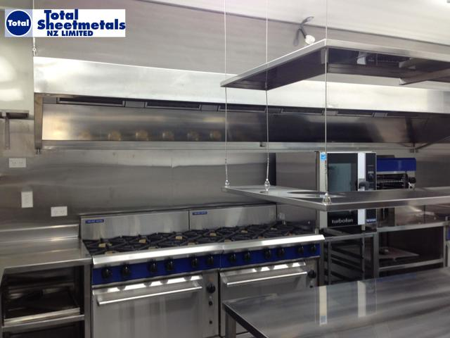 Commercial Kitchen Fabrication and Installation