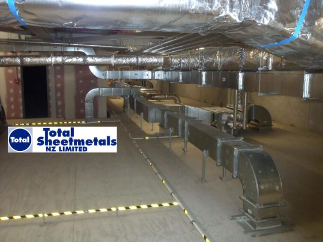Industrial HVAC Duct and Cladding Work. Design, Manufacture and Install NZ Wide