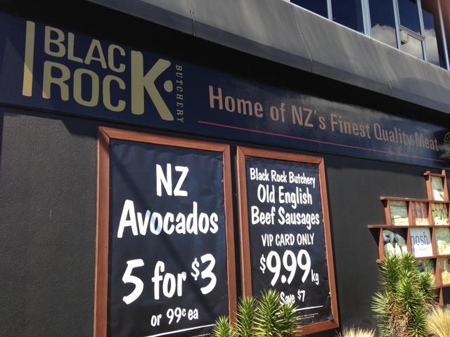 Nosh in Greenlane has a Black Rock butchery inside