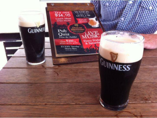 What better place to have a Guinness but at Doolan's! Great music & lively atmosphere
