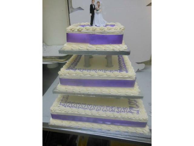 Wedding Square cake