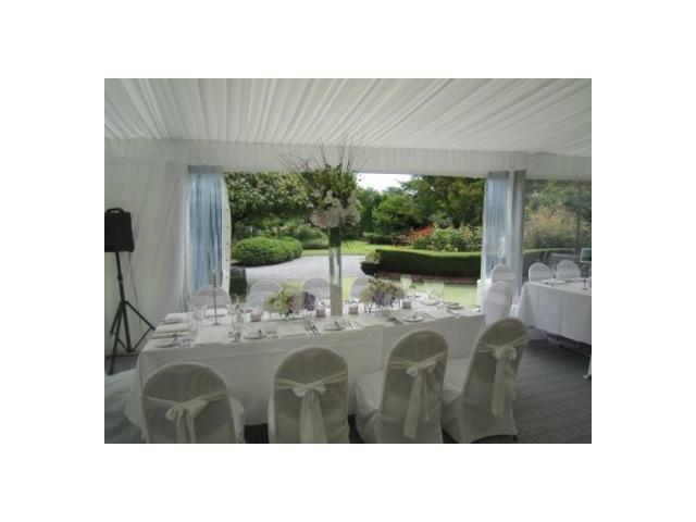 Garden wedding marquee 2 Kate Sheppard House