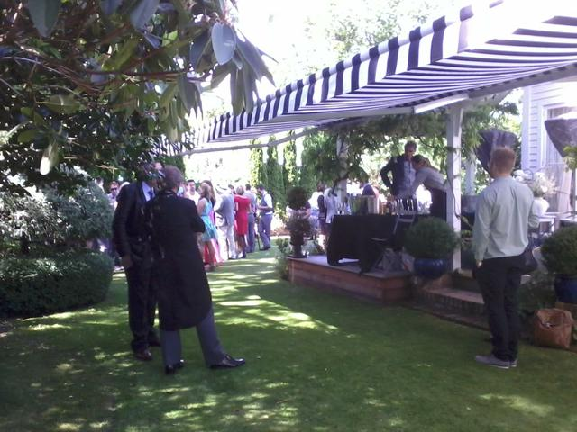 Cocktail reception Kate Sheppard House and Garden