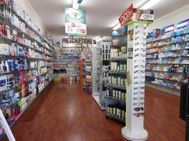 Newton A-Z Pharmacy Inside