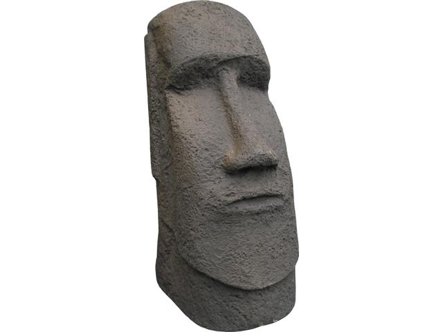 Easter Island Head Sculpture