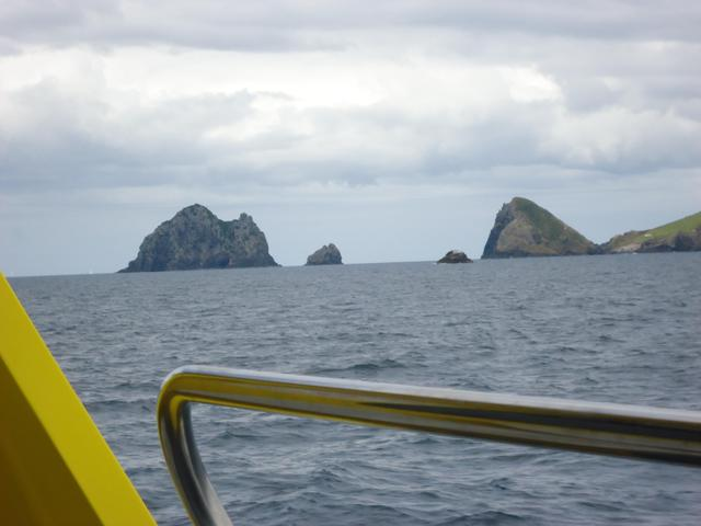 Approaching Pearcy Island