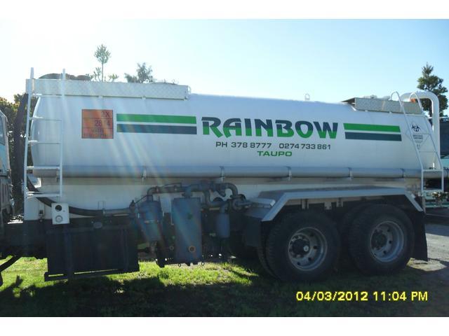 Rainbow Septic Tanks Truck