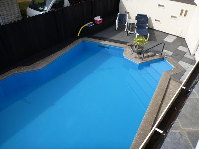 High shot of the Thermal Heated Freshwater Pool