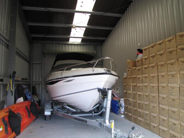 Boat storage is made easy with Ridgeway Storage Taupo