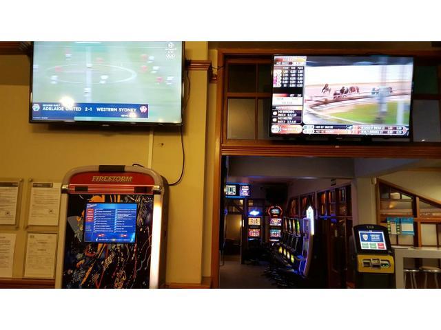 Everything you want sport... tab... pokies... beer.