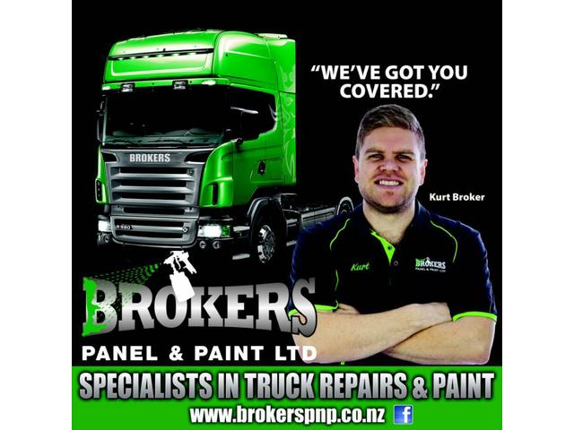Specialists in truck & commercial repairs & painting