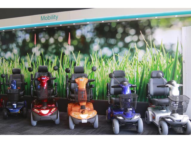 We have a wide range of mobility scooters