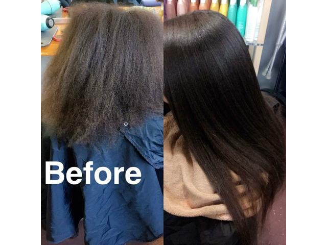 Keratin smoothing