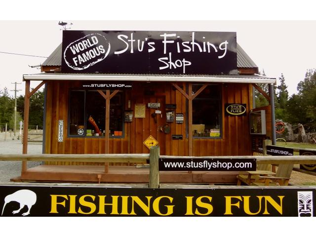 New Zealand's Best Fly Fishing at Stu's Fly Shop