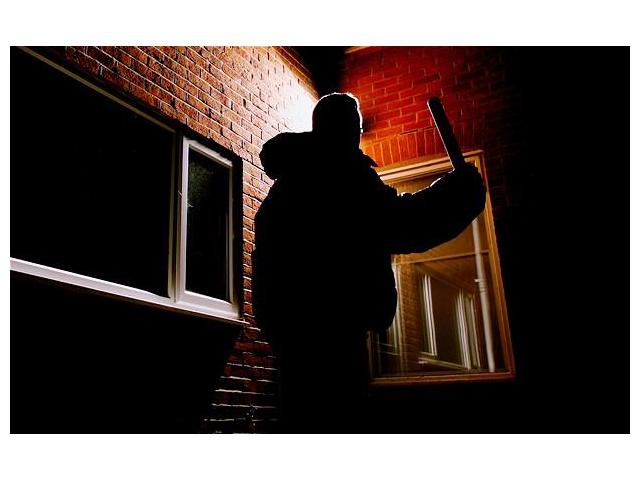 Burglar approaching warning - you need to be Safe & Secure
