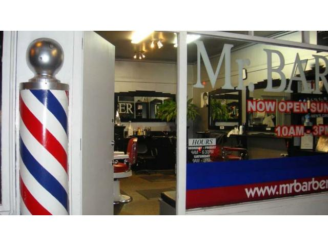 Mr Barber Greenwoods Corner