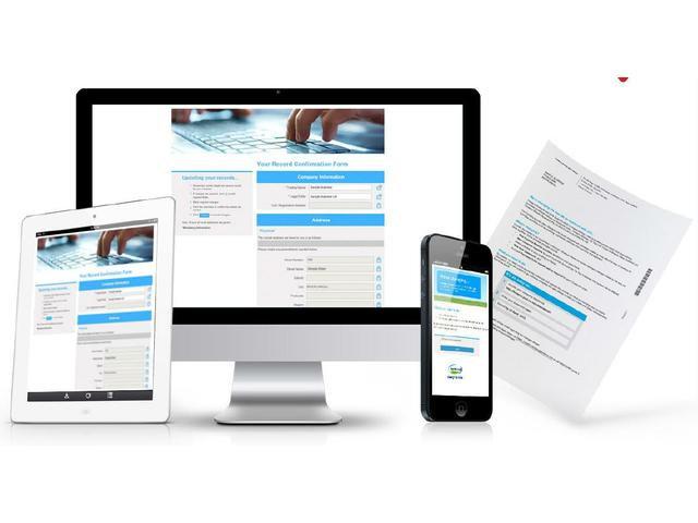 Multichannel promotions combining web, email, print and SMS